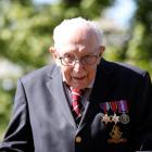 Captain Sir Tom Moore. Photo: Reuters