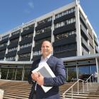 Adam La Hood, of Dunedin, is Otago Polytechnic's new board chairman.PHOTO: LINDA ROBERTSON