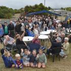 A big crowd turned out to celebrate resource consent being approved for the restoration of Te...