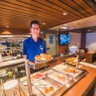 Kiwis consumed thousands of meals on the Cook Strait this summer. Photo: Supplied