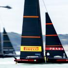 Luna Rossa lead Ineos Team UK 4-0 in the final series. Photo: Getty Images