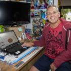 Mark Bone at his home office. Photo: Geoff Sloan