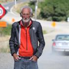 Haven St resident Stan Lusby says motorists ignore the speed signs, and is concerned someone...