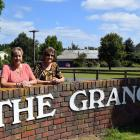 'The Birley girls'' ... Sisters Patricia Snell (left), of Auckland, and Joan King, of Motueka,...