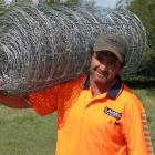 Fencing contractor Willie Lake, of Lake Contracting, Omakau, expects predicted price increases...