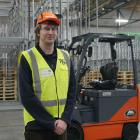 Patrick Carpenter is in the final week of a four-week forklift training course at T&G Global,...