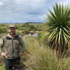 Sinclair Wetlands co-ordinator Glen Riley oversees the ongoing work to care for the health of the...