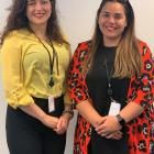 Office of Ethnic Communities staff members Lina Lastra (left) and Ana Mapusua are the new...