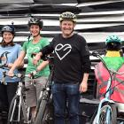 Dunedin Wildlife Hospital team ''The Penguin Pedallers'' took top spot in its category in the...