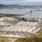 The smelter at Tiwai Point. Photo: ODT files