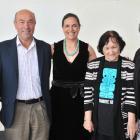Dunedin kaumatua (elders, from left) Anne Robertson, Otakou upoko (head) Edward Ellison, project...