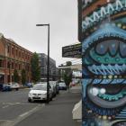 Vogel St, a focal area for businesses in Dunedin. Photo: Gerard O'Brien