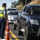 Police have been asked to set up roadblocks as part of the Level 3 restrictions. PHOTO: THE NEW...