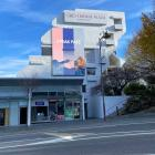 An image of the  digital billboard proposed for the side of Queenstown's Crowne Plaza. The plan...