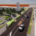 The Wheels to Wings - Papanui ki Waiwhetū cycleway plan. Image: Newsline