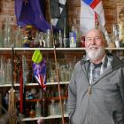 Lawrence Junk Shop owner Les Bray is not in favour of the Clutha District Council establishing a...