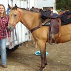 Mackenzie A&P Highland Show secretary Jodi Payne loves spending time with animals in her down...