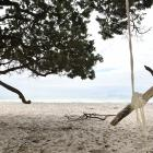 The Bay of Plenty is well known for its sandy beaches, such as at Orokawa Bay, near Waihi Beach....