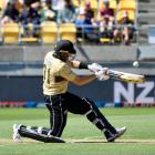 Martil Guptil racked up 71 runs in Wellington. Photo: Getty Images