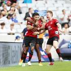 Crusaders playmaker Richie Mo'unga collected 28 points on Sunday afternoon with an impeccable...
