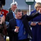 Gordon Elliott is a Gold Cup and three times Grand National winner. Photo: Action Images via Reuters