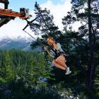 A prom otional image for the flyride proposed at Hanmer Springs. Image: Supplied via NCN