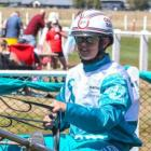 Team teal's Samantha Ottley had 16 wins in the fundraiser for ovarian cancer. Photo: Harnesslink