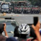 Large-scale, pro-democracy demonstrations have been held throughout Myanmar since the army's...