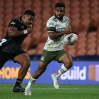 Jona Nareki scored three tries and was simply electric all night. PHOTO: GETTY IMAGES