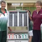 Winners of the junior women's Friendship Fours championship at St Kilda on Sunday are (clockwise...