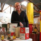 Oamaru man Alastair Allan is saying goodbye to more than 1100 items in this weekend's Parsons Rd...