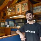 ''Captain Poppa'', the new owner of Poppa's Pizza in Albany St, Dunedin. PHOTO: GREGOR RICHARDSON