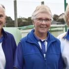 Taieri team triple treat . . . Winners of the champion of champion women's triples at St Kilda on...