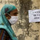 Vaccine centres in several states have been shutting early and turning people away as supplies...