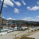 Construction on the new teaching space at Queenstown's Shotover Primary School begins in 2018....