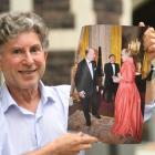 Pianist Terence Dennis holds a photograph of the event in 2012 when he and Dame Kiri Te Kanawa...