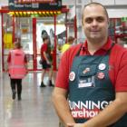 Bunnings Queenstown complex manager Liam Dawson says doors to the store, four years in the making...