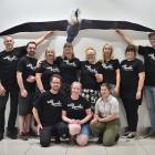 The Wild Dunedin Festival committee (back, from left) Neil Harraway, Chris McCormack, Kerry...