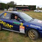 Novice rally driver Avalon Biddle and co-driver Grant Marra get in some practice before this...