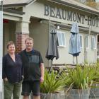 Beaumont Hotel proprietors Alison Mills and Gunni Egilsson say they plan to remain in business...