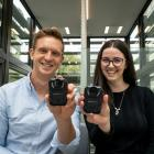 Bedtime Electronic Devices (BED) study co-leaders Brad Brosnan and Shay-Ruby Wickhamdisplay...