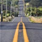 High risk . . . Dunedin City Council staff have identified Blackhead Rd as one of many Dunedin...