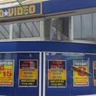 The New Brighton United Video store. Photo: RNZ / Rachel Graham