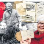 Erin McNaught proudly shows the  World War 1 diary of her grandfather, Moa Flat farmer James Joseph O'Connor. The diary was found at an Invercargill secondhand store and eventually returned to family. PHOTO: LUISA GIRAO