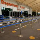 Mumbai airport. Travel from India to New Zealand will be temporarily suspended from 4pm on April...