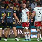 The Crusaders went down to the Chiefs by a single point in Hamilton Saturday. Photo: Getty Images