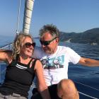 Helen Shrewsbury and Stephen Prendergast hope to sail from the UK to Lyttelton when borders...