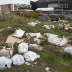 Rubbish dumped near Walsall St, Addington. Photo: Geoff Sloan
