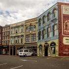The Riverside mural. Photo: Geoff Sloan