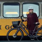The Taieri Gorge line could be used for trains or bicycles, or both, Otago Central Rail Trail...